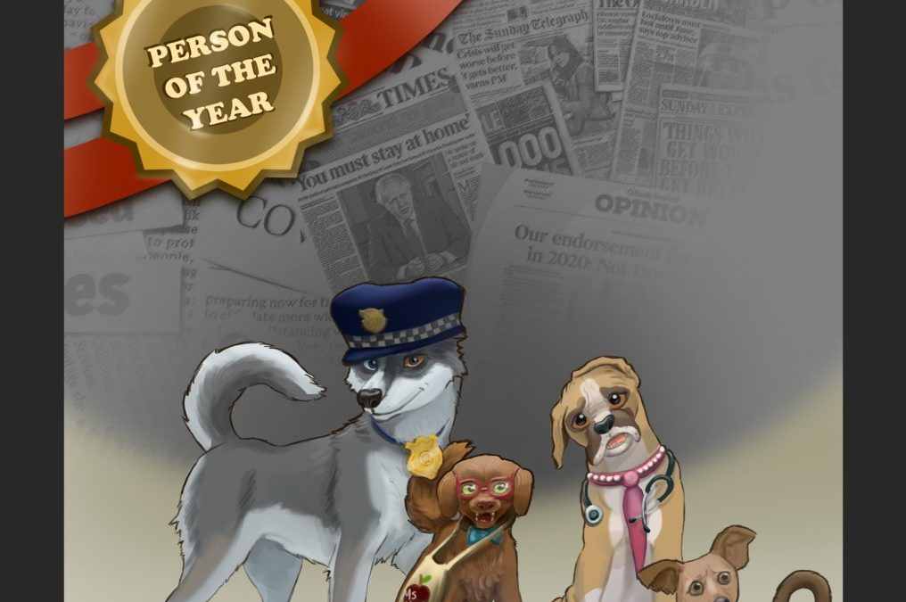 Minna and the Canine Club's 2020 Person of the Year
